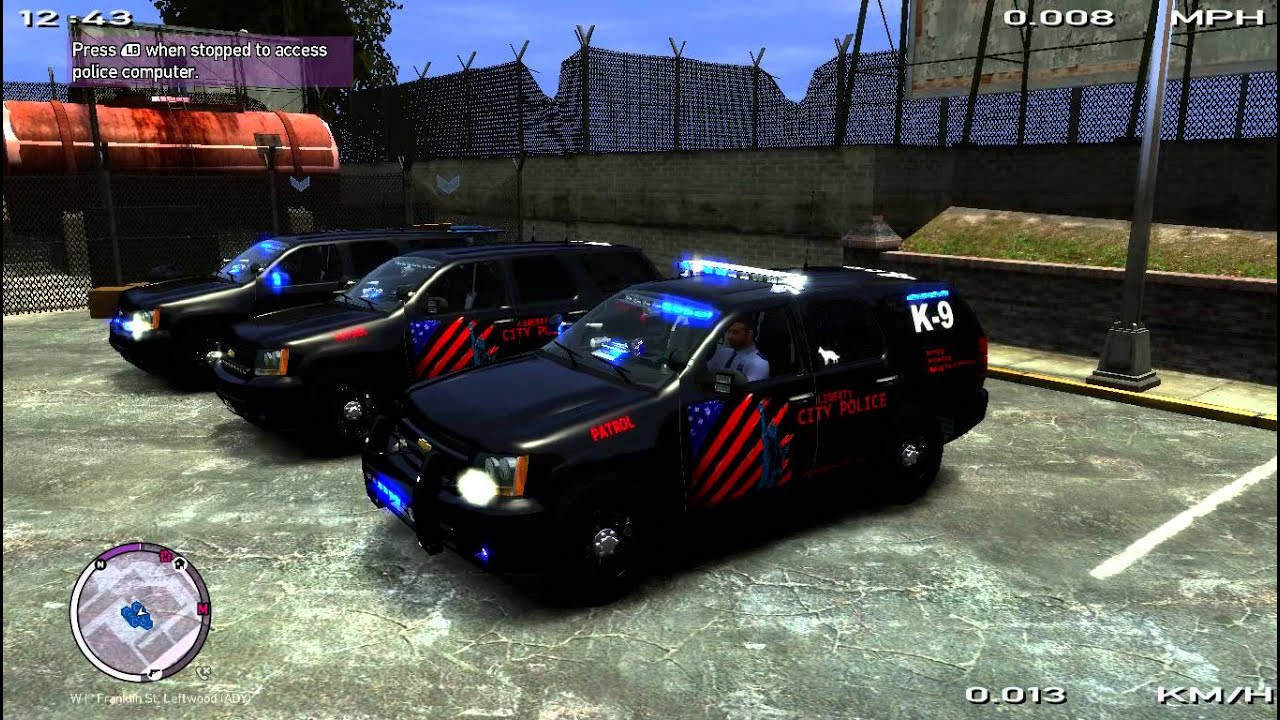 Gta Iv Eflc Lcpd Police Pack Youtube