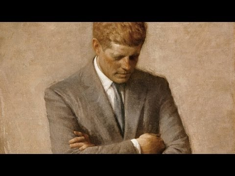 Painting a deceased president