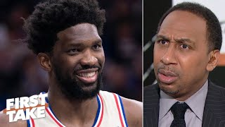 Should the 76ers trade Joel Embiid? Stephen A. says 'HELL NO'  | First Take