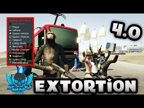 GTA V - Mod Menu EXTORTION v4 0 + Download