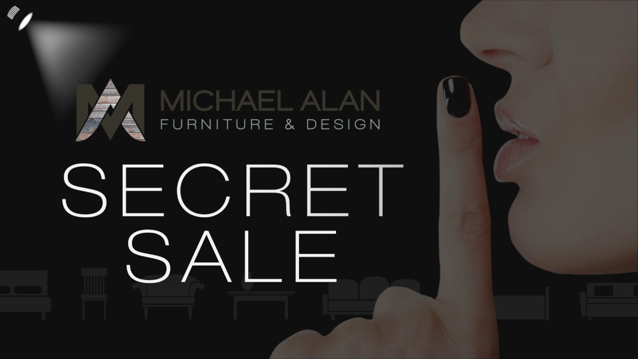 Michael Alan Furniture U0026 Design Secret Saturday BOGO Sale