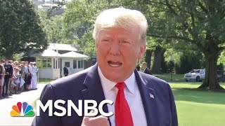 Busted: Trump's ICE Raid Pledge Demolished By Own Staff   The Beat With Ari Melber   MSNBC