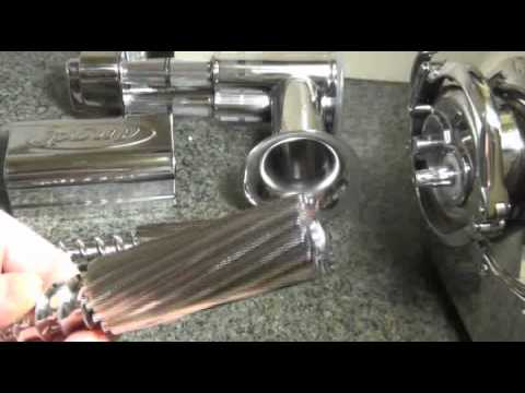 Angle Angelia 7500 Twin Gear Juicer Review Youtube