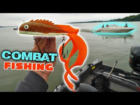 COMBAT Musky Fishing!!