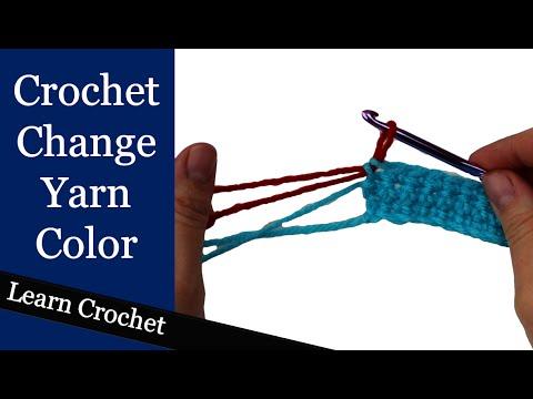 Correct Way To Change Yarn Color In Crochet Beginner