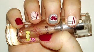 Cute Stitched Heart Nail Art Tutorial | Samantha Beauty Thumbnail