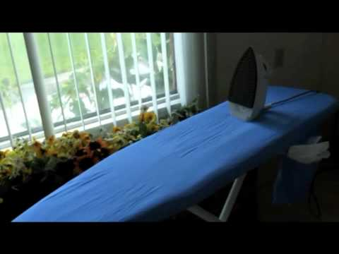 Ironing Board Cover! Thursday Tip of the Week!