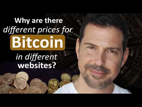 George Levy - Why Are There Different Prices For Bitcoin In Different Websites?