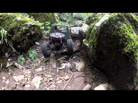 Trailfinder 2 Rc4wd with pitbull growler tires 1,55,