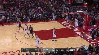 1st Quarter, One Box Video: Houston Rockets vs. San Antonio Spurs