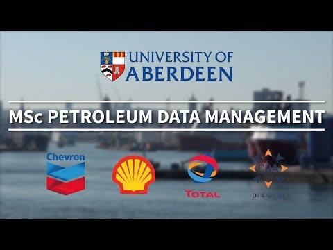 MSc Petroleum Data Management