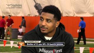 Quandre Diggs--LHN Pro Day interview [April 28, 2015]
