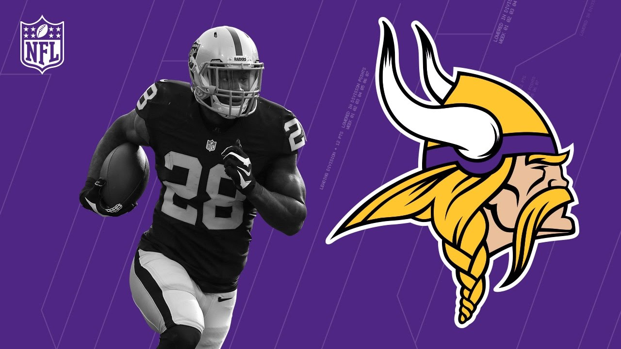 huge selection of 5f122 60d87 Latavius Murray Welcome to the Minnesota Vikings! | NFL | Free Agent  Highlights