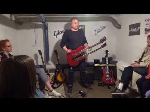 Bo Melin, Rya skog guitarist - Art exhibition and Masterclass