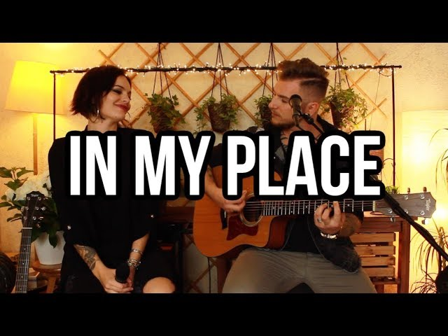 In my place - Family Business Duo (acoustic cover)