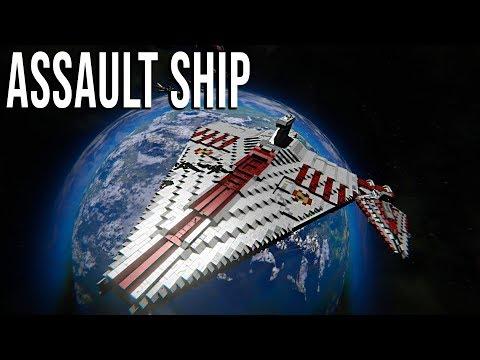 Acclamator Assault Ship - Star Wars - Space Engineers