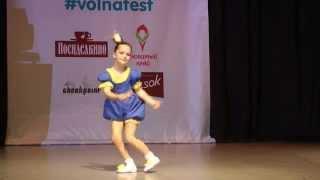 """Танец Царевны"". Яна Пузанкова, 7 лет. 15 декабря 2014 года."
