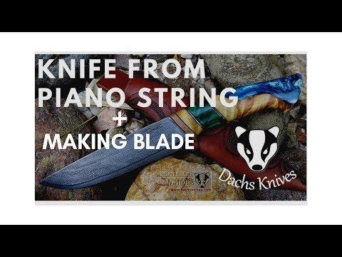 🗡⚔Chord knife art of metal🗡⚔ + making a blade