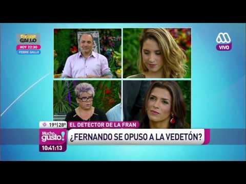 Ivette Vergara se sincera en el detector de mentiras , Mucho Gusto