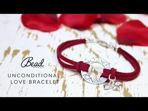 Unconditional Love Bracelet - DIY Quick Make - Bead House