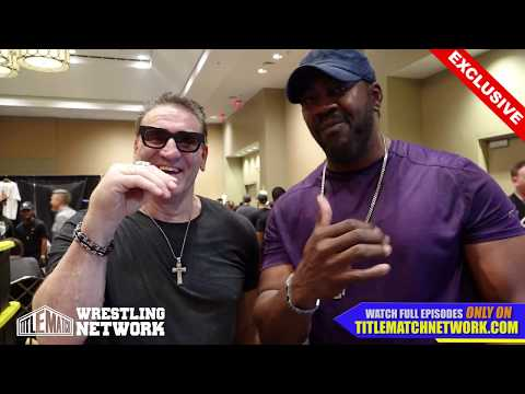 Ken Shamrock - April 2018 Interview with Stevie Ray - Wrestlecon New Orleans