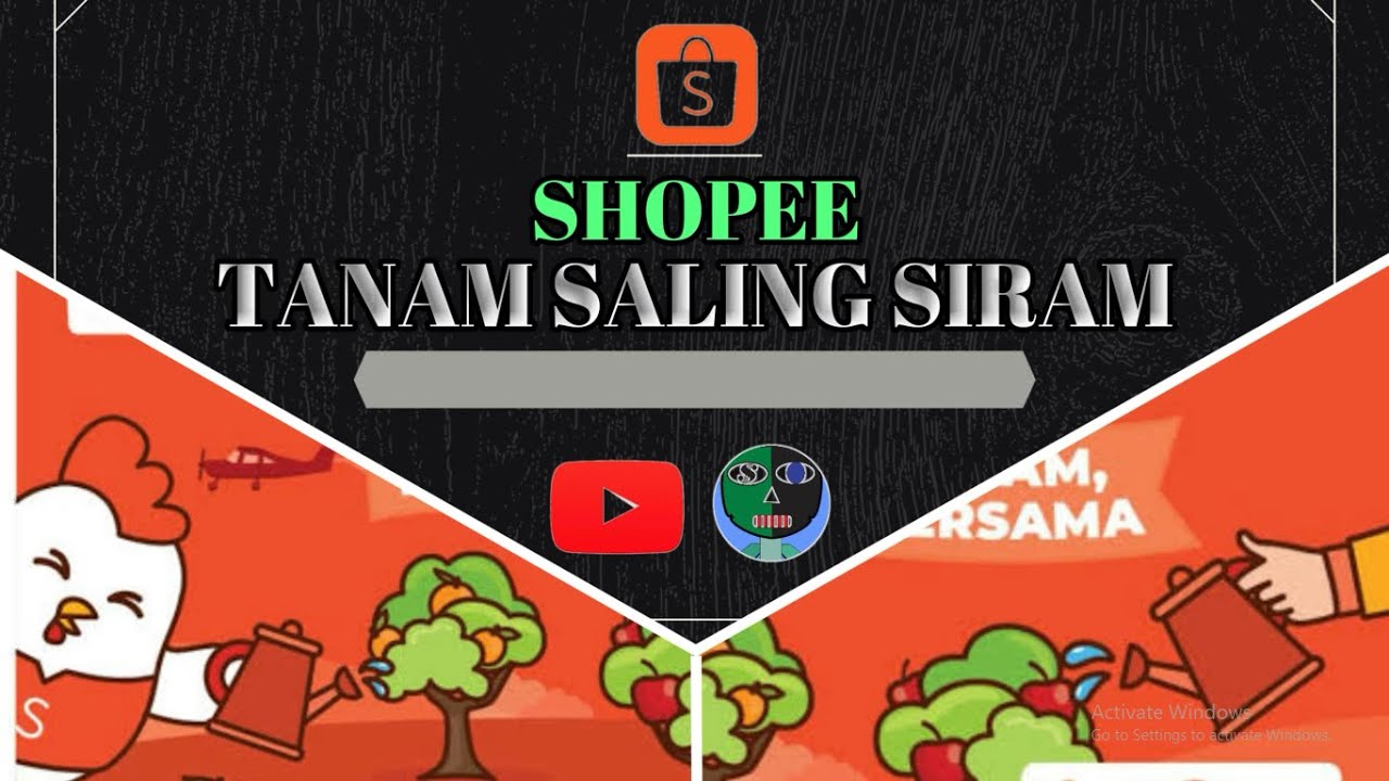 Tutorial Cara Nuyul Shopee Tanam Terbaru 2021 Tercepat Dan Tersimple Youtube