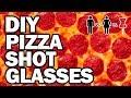 DIY PIZZA SHOT GLASSES - Man Vs Corinne Vs Pin