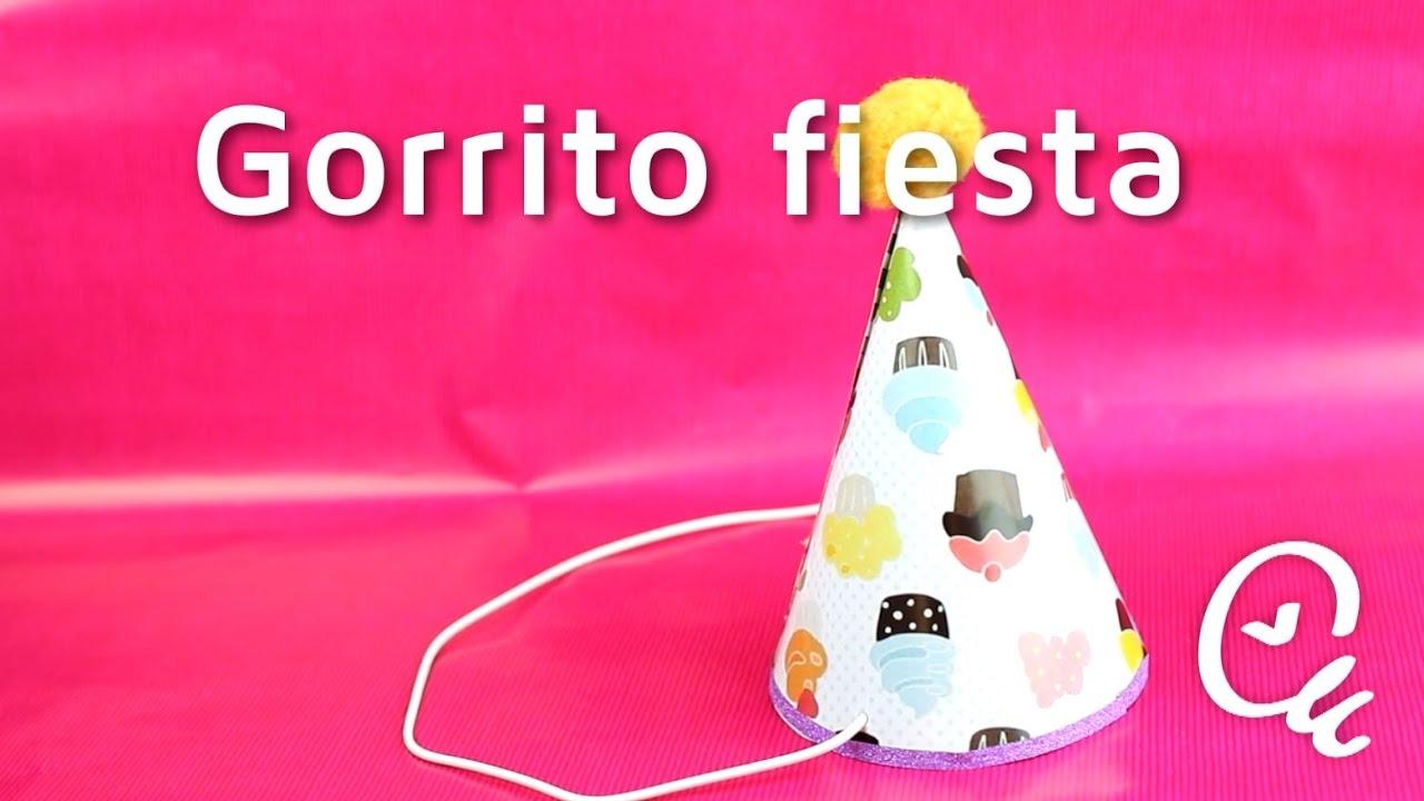 Cómo hacer divertidos gorros de cumpleaños | facilisimo.com - YouTube