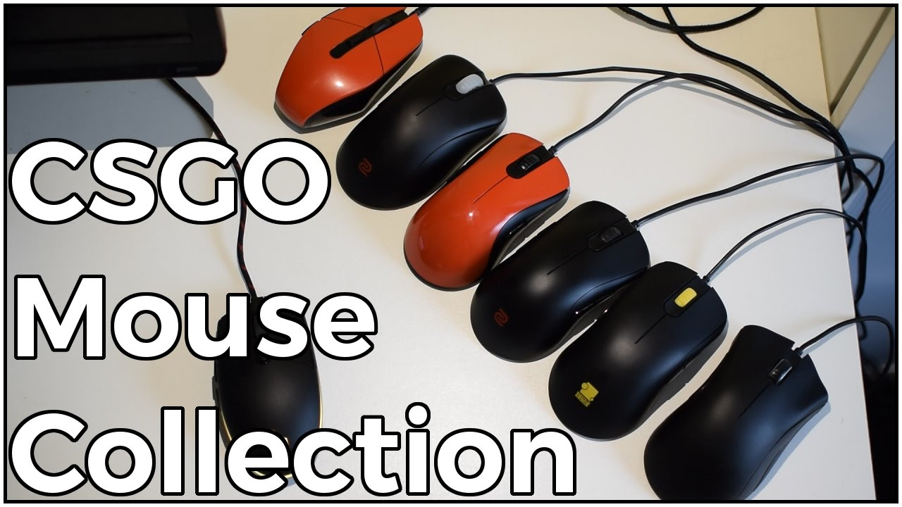 c25f48fd95d Mouse collection - Best gaming mice for CS:GO! - YouTube