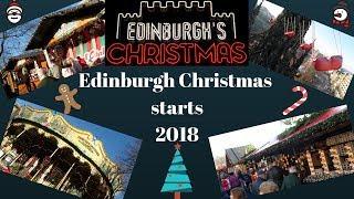 A look at Edinburgh Christmas 2018