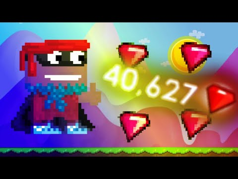 40k gems a day! | Growtopia | ( 2018)