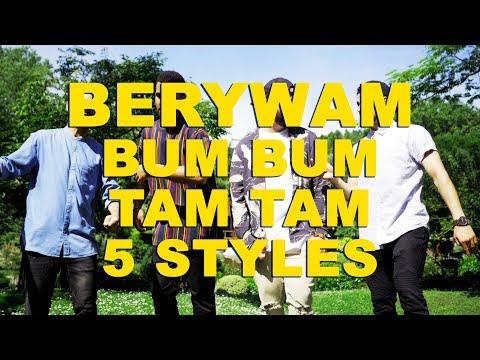 Berywam - Bum Bum Tam Tam (MC Fioti / KondZilla) In 5 Styles - Beatbox