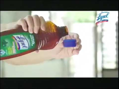 lysol-disinfectant-concentrate-tvc,-2013---30s-version