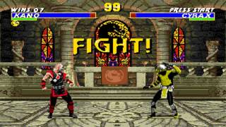 Ultimate Mortal Kombat 3 Kano