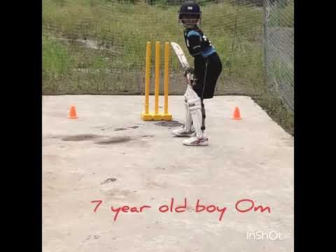 ROSHAN CRICKET CLUB...awesome batting technique Om Bangar.please watching and subscribe this channel