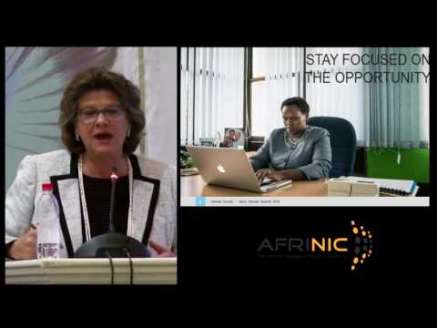 Kathy Brown keynote at Africa Internet Summit 2016