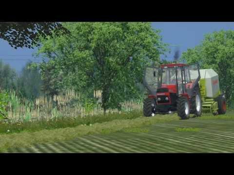 Farming Simulator . Nelamanowice V3. Sianokosy .