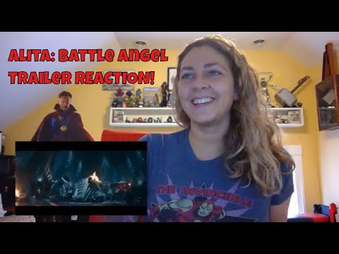 Alita: Battle Angel Official Trailer REACTION! (James Cameron)