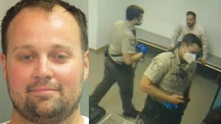 Josh Duggar Booked Into Detention Center: NEW Security Footage