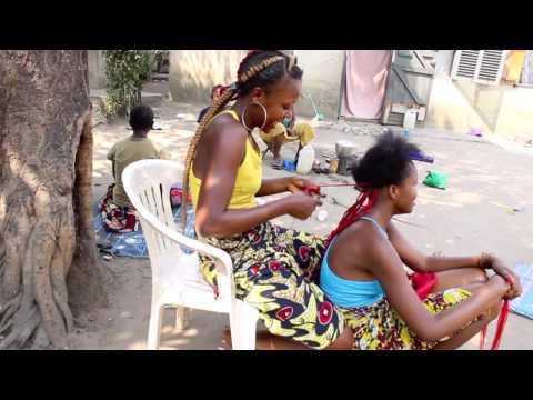 CONGO 2016 coiffeuse du quartie