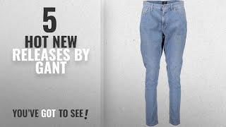 Hot New Gant Women Clothing [2018]: GANT 1401.410524 Jeans Denim Women Light Blue 991 36