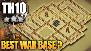 COC TH10 New War Base 2017 | Town Hall 10 Anti Lavaloon, Bowler, Valkyrie | Clash Of Clans