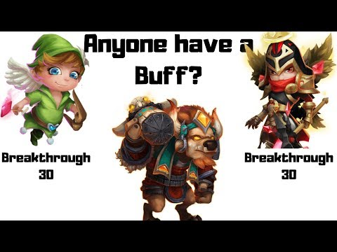 Who Is The Better Buffer At Skill 13/13? Michael BT 30  Or Cupid BT 30? |  Castle Clash