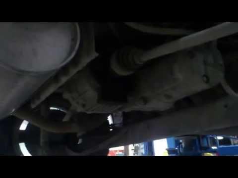 Замена сальника привода заднего редуктора на Nissan Note