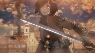 Mikasa   queen of hearts edit/amv ...