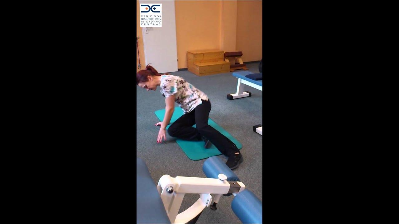 Išvaržų gydymo pratimai yuotube