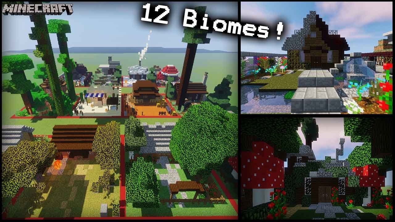 how to create biomes in minecraft