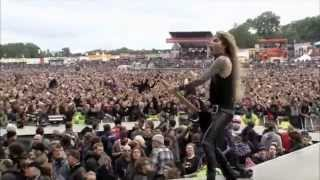Steel Panther- 17 Girls in a Row live at Download Festival 2012