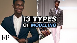 13 Types of MODELING // Which One is for YOU?