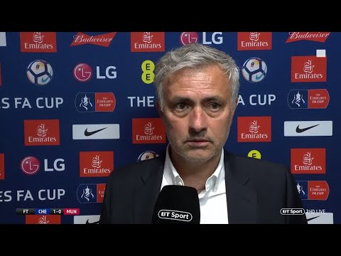 Mourinho: We deserved to win FA Cup final | Manchester United manager not happy